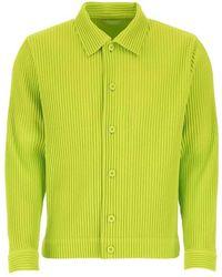 Issey Miyake Shirt - Verde