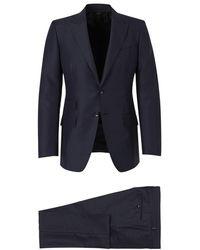 Tom Ford O'Connor Silk Suit - Blau