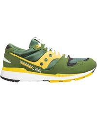 Saucony - Men's Shoes Suede Trainers Sneakers Azura - Lyst