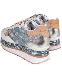 Manila Grace Flat shoes - Blu