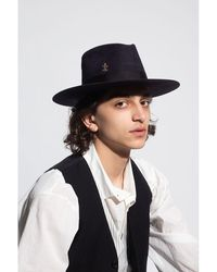 Nick Fouquet Cenote hat with bow Azul