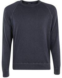 Drumohr Sweatshirt - Bleu