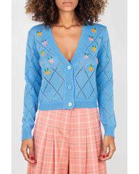 WEILI ZHENG Sweater - Blauw