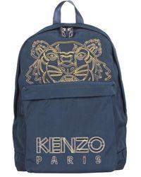 KENZO Canvas backpack - Bleu