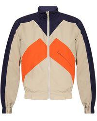 KENZO Track Jacket With Logo - Grijs