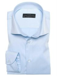 John Miller Tailored Fit Nos - Blauw