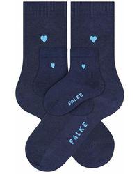 Falke Mini-me Set - Blauw
