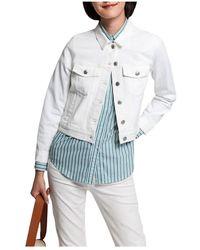 GANT Jeans Jacket - Wit