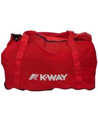K-Way K-foldable Bag - Rood