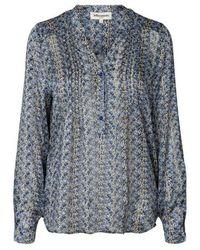 Lolly's Laundry Helena shirt - Azul