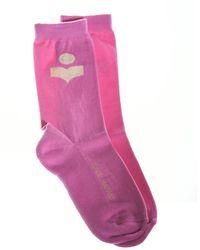 Étoile Isabel Marant Vilykia Socks - Roze
