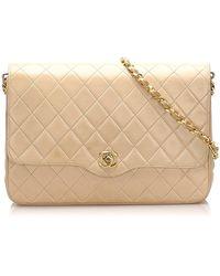 Chanel Timeless Shoulder Bag - Naturel