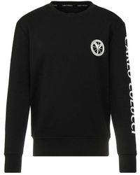 carlo colucci Sweatshirt C3650 - Zwart