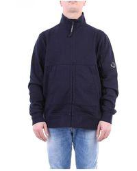 C.P. Company 08cmss033a005160w With Zip Sweatshirt - Blauw
