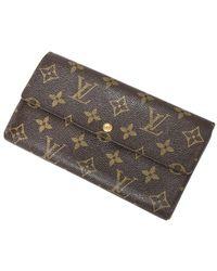 Louis Vuitton Porte-monnaie Credit - Bruin