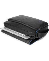 Piquadro Messenger Porta Pc e iPad® Collezione B2S Negro