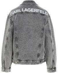 Karl Lagerfeld Coat Gris