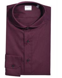 Xacus Overhemd Tailor Fit - Paars