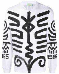 Aries Fsar60008 T-shirt - Wit