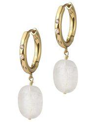 Anni Lu Earrings - Geel