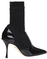 Dolce & Gabbana High-top Sock Pumps - Zwart