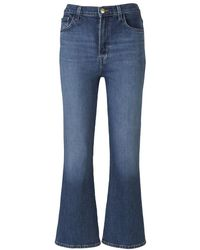 J Brand Jeans Julia High Rise Flare - Blauw