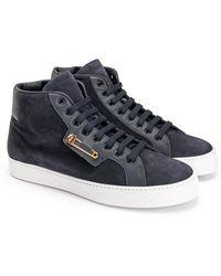 John Galliano Sneakersy - Blauw