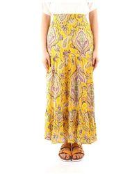 Desigual 21swfw28 Skirt - Geel