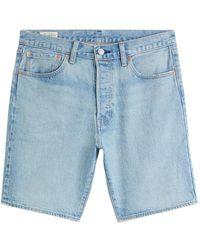 Levi's 36512 0147 - 501 hemmed short shorts - Azul