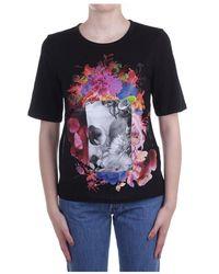 Just Cavalli - S02gc0426 N20663 Short Sleeve T-shirt - Lyst
