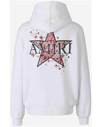 Amiri Paisley Star Hoodie - Blanc