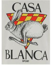 CASABLANCA T-shirt Blanco