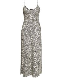 AllSaints Bryony Dress With Straps - Grijs