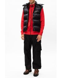 Moncler Ski trousers with logo Negro
