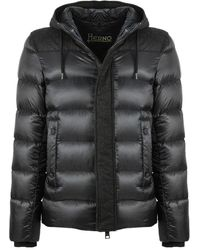 Herno - Down-feather Hoodie - Lyst