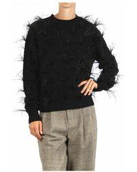 WEILI ZHENG Wwz-kc85 Sweater - Zwart
