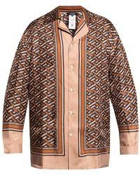Versace Pyjama top - Braun