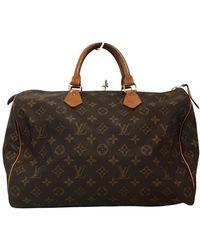 Louis Vuitton Speedy 35 - Marrone