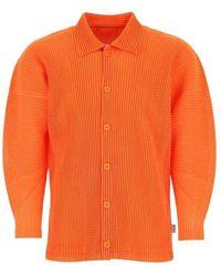 Issey Miyake Shirt - Arancione