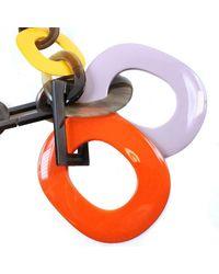 Hermès Collar Naranja