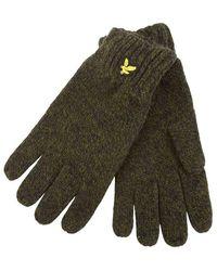 Lyle & Scott Gloves - Groen