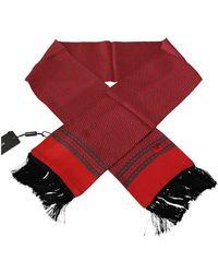 Dolce & Gabbana - Puntdruk Silk Tassel Wrap Shawl Sjaal - Lyst