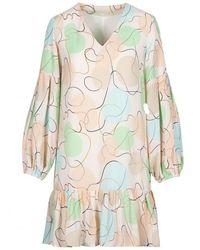 Anonyme Designers Dress - Naturel