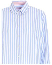 Mc2 Saint Barth Brigitte shirt - Bleu