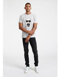 Hermès Camiseta Crewneck Gris