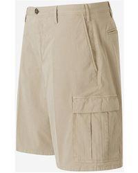 PT01 Worn Out Shorts Beige - Neutro