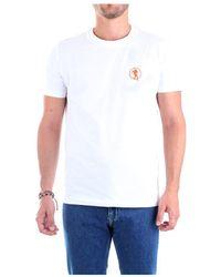 Bikkembergs C70164Te1823 Short sleeve T-shirt - Bianco