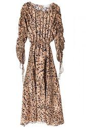 FWSS Kitty Dress - Marrone