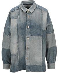 Ambush Shirt bwyd 001s21den 001 - Azul