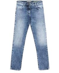 Patrizia Pepe Denim Canvas Jeans - Blauw
